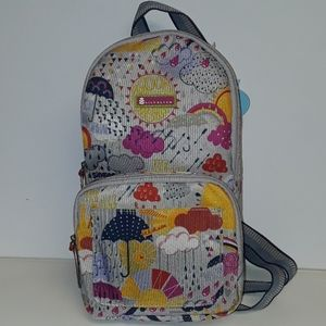 NWT Lily Bloom Raindrop Bryan Sling Backpack
